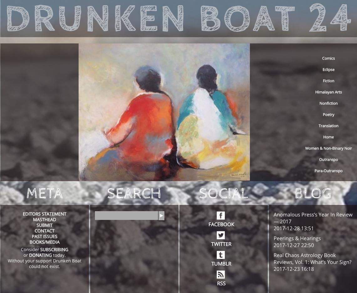 Drunken Boat 24